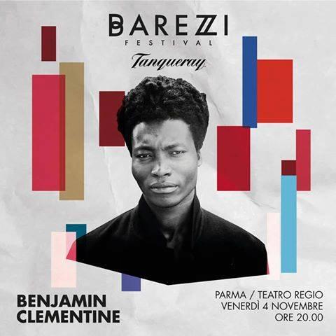 Benjamin Clementine live al Barezzi Festival 2016