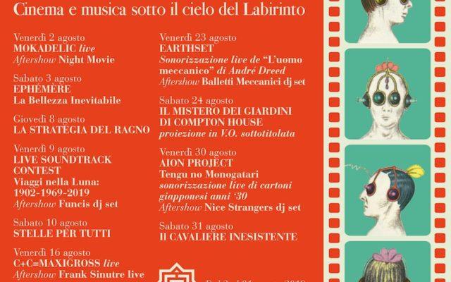 """c5da6f40d """"Balletti meccanici"""" cinema e musica sotto il cielo del Labirinto"""